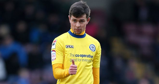 Joe Rafferty: On target for Rochdale