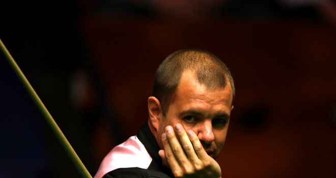 Barry Hawkins: Fights backs at Crucible