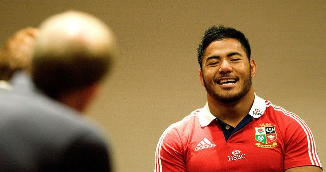 Manu Tuilagi: Centre would play anywhere for the Lions
