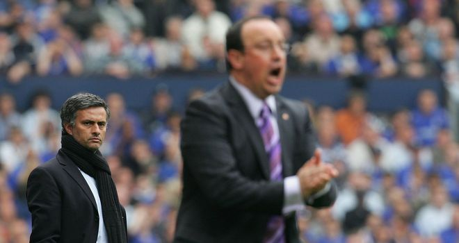 Rafa Benitez wants Chelsea focus to be on Basel and not Jose Mourinho