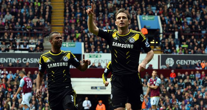 Frank Lampard: Hero for Chelsea as he breaks goalscoring record