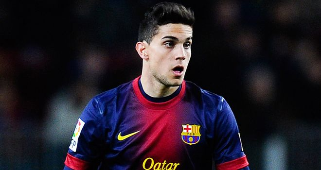 Marc Bartra: Barcelona youngster looking to shine for Spain