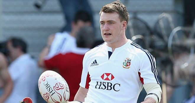 Stuart Hogg: Out to impress with the Lions