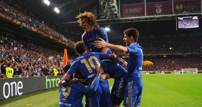 Chelsea: Celebrate goal in Amsterdam