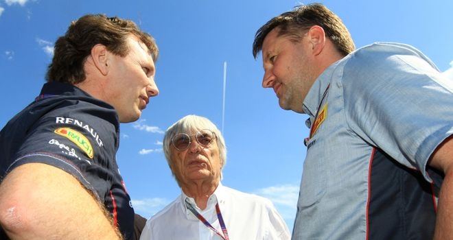 Paul Hembery: Says Mercedes had 'no idea' what they were testing