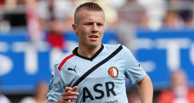 Jordy Clasie: Influenced de Jong's move to Excelsior