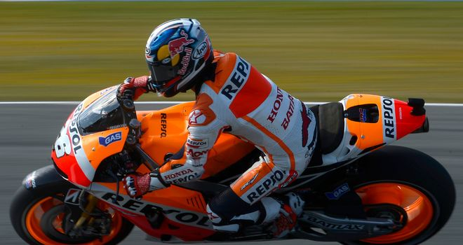 Dani Pedrosa: Fastest at Le Mans