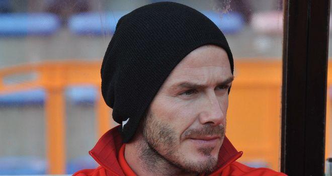 David Beckham bids farewell to PSG