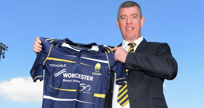 Excited: New Worcester director of rugby Dean Ryan