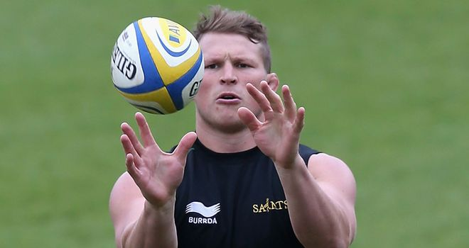 Dylan Hartley: Warned by Stuart Lancaster