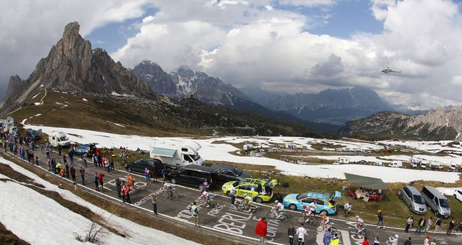 The Giro features a host of mythical climbs