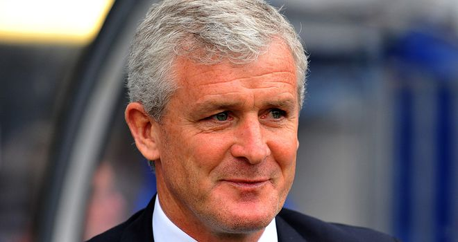 Mark Hughes: New Stoke boss has a chance to assess his squad on US tour