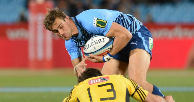 JJ Engelbrecht: on the scoresheet for the Bulls