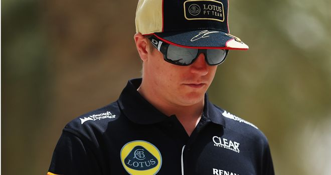 Kimi Raikkonen: Thoroughly unimpressed with Sergio Perez