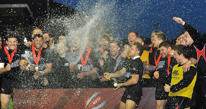 Newcastle Falcons: Back in Premiership