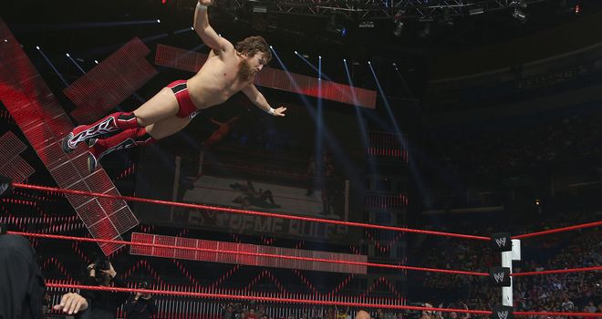 Bryan: faced Kane last year - and later became his tag team partner