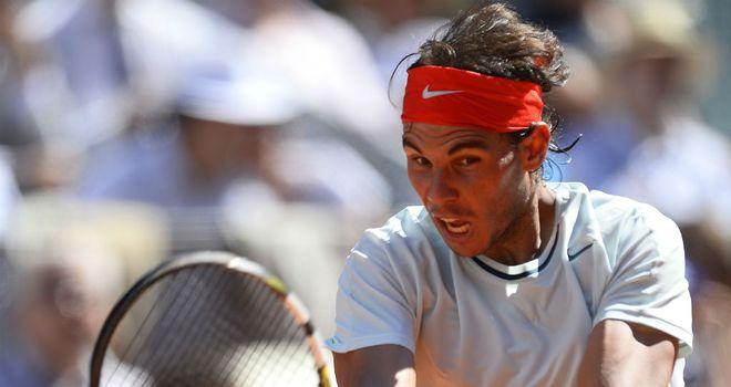 Rafael Nadal: Overcame David Ferrer in all-Spanish affair