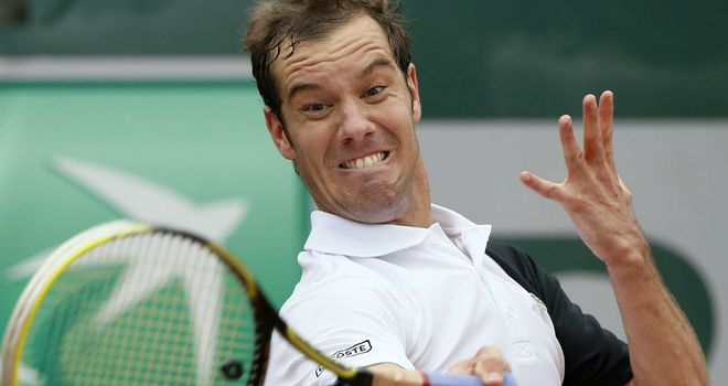 Gasquet: Breezed past Melzer