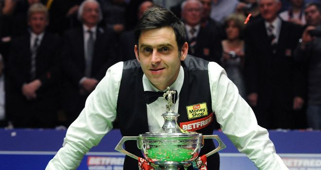 Ronnie O'Sullivan: five-time world champion returned to action in Sofia