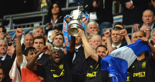 Wigan got their hands on the FA Cup after edging out Manchester City at Wembley