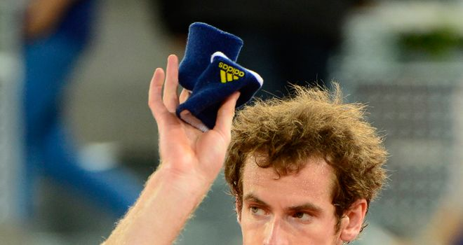 Andy Murray: Staying positive despite his quarter-final exit