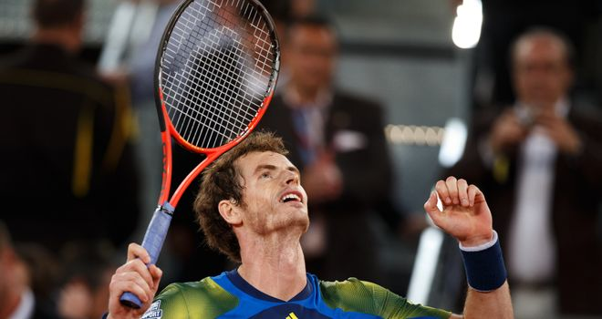 Andy Murray: Will take on Marcel Granollers in Rome