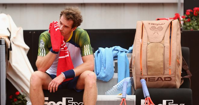 Andy Murray: Expected to miss French Open due to recurring back problem