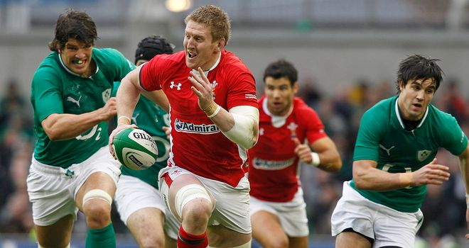 Bradley Davies hopes Wales can take inspiration from England's performances against southern hemisphere opposition