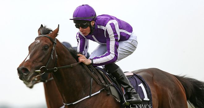 Camelot makes a winning reappearance at the Curragh