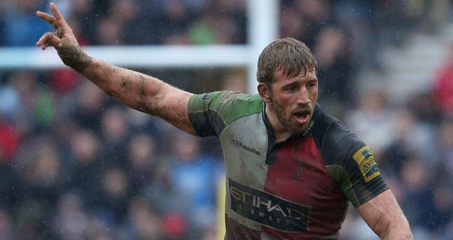 Chris Robshaw: Signed new contract extension to remain with Harlequins until end of 2015/16