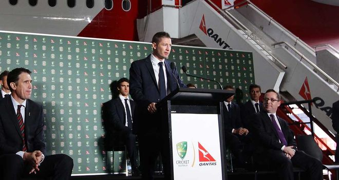 Michael Clarke: Australia skipper says farewell in Sydney