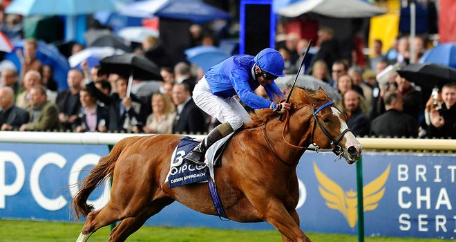 Dawn Approach: Tops Investec Derby acceptors