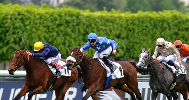 Flotilla: Landed French 1000 Guineas at Longchamp