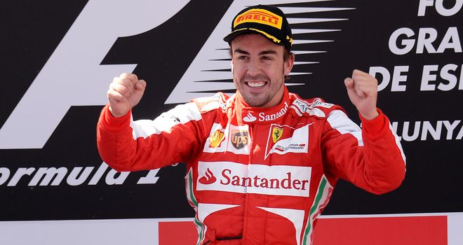 Fernando Alonso: Won the Spanish GP for a second time