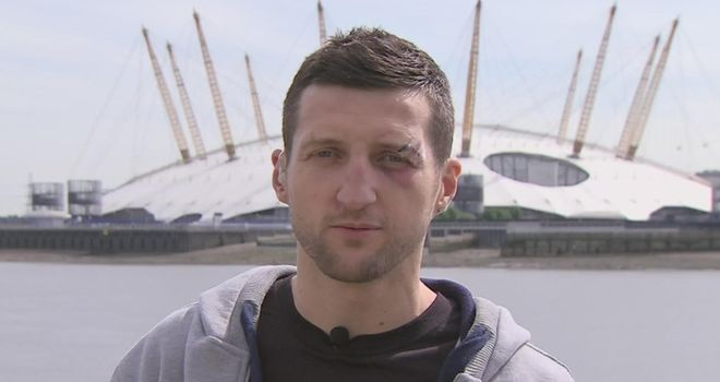 Carl Froch: Not willing to give up his IBF belt