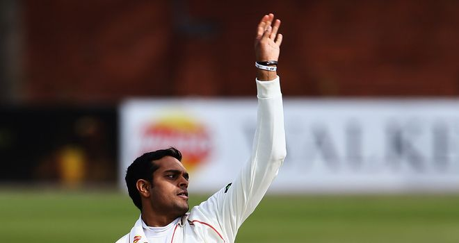 Jigar Naik: Took the only wicket of Worcestershire's second innings