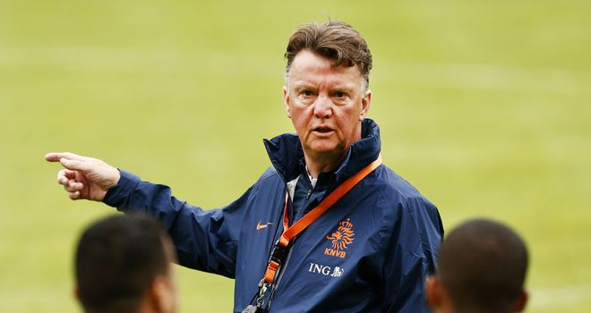 Louis Van Gaal: Confirmed Spurs approach