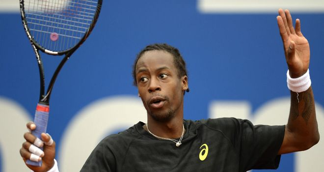 Gael Monfils: Came from a set down to beat Santiago Giraldo