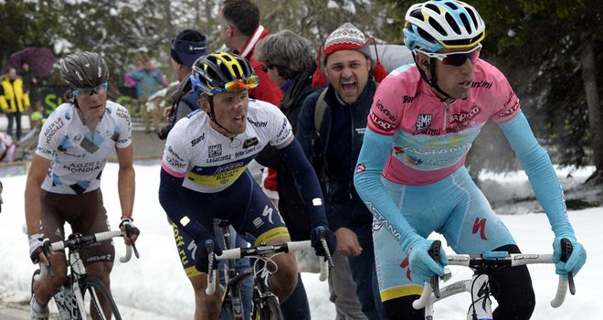 Vincenzo Nibali is on the verge of his first Giro triumph