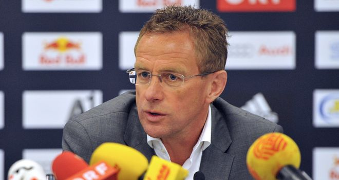 Ralf Rangnick: Says he has two-years left on his current deal