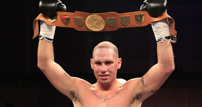 Stephen Simmons: Looking for a shot at the British title (Pic Lawrence Lustig)