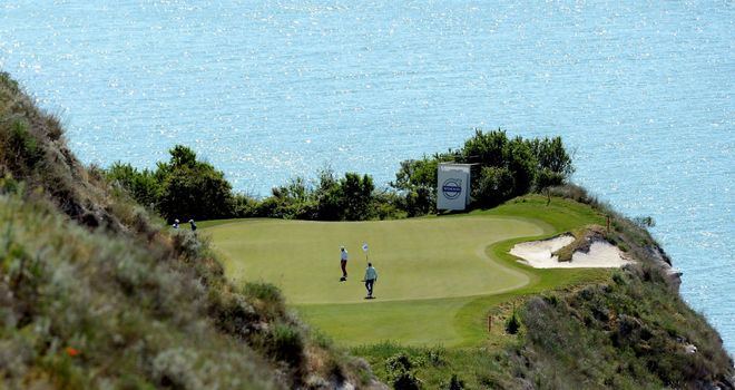 Thracian Cliffs: The stunning Gary Player designed lay-out is hosting this week