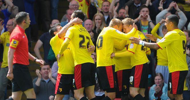 Watford: Celebrate their win