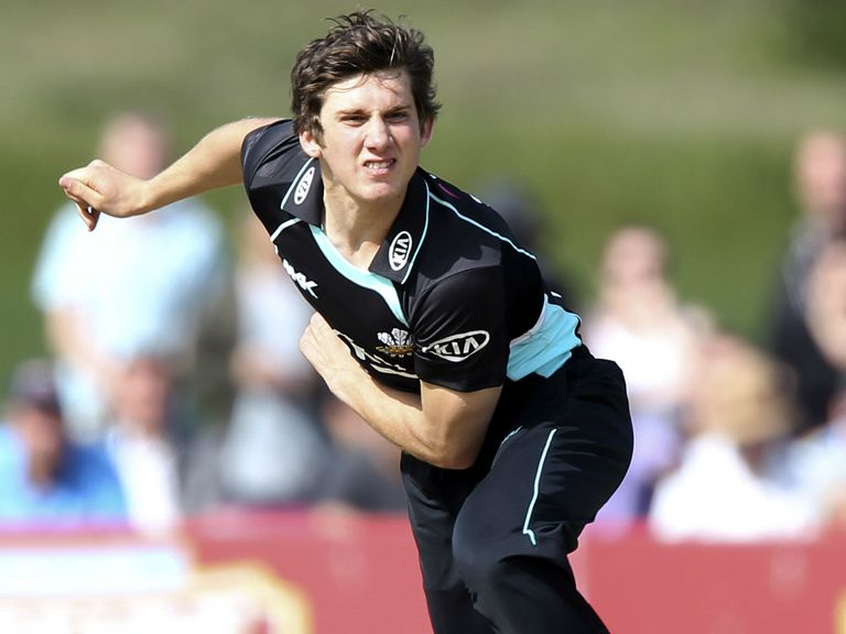 Zafar Ansari: Crashed into a boundary fence