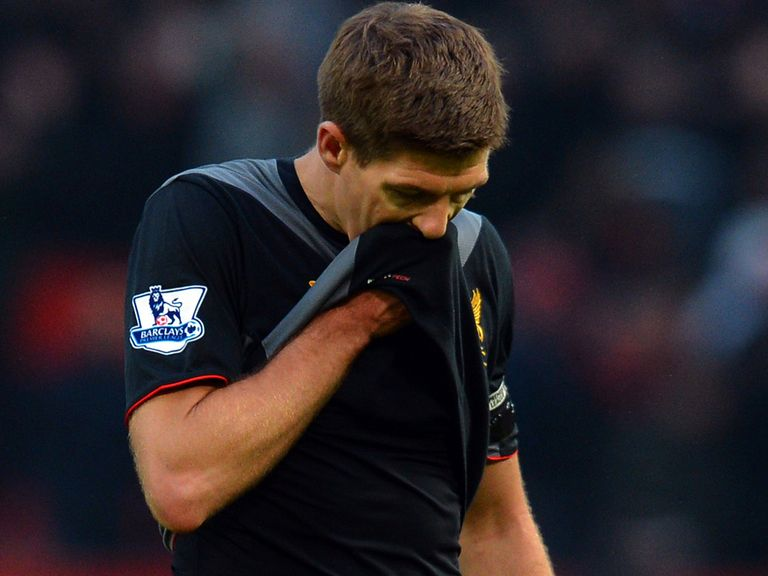 Steven Gerrard: Disappointing end to season