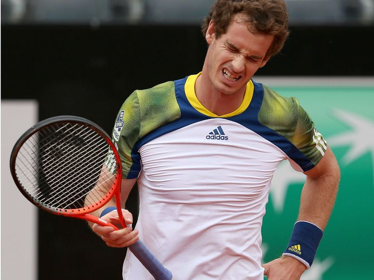 Andy Murray: Has opted to rest his bad back