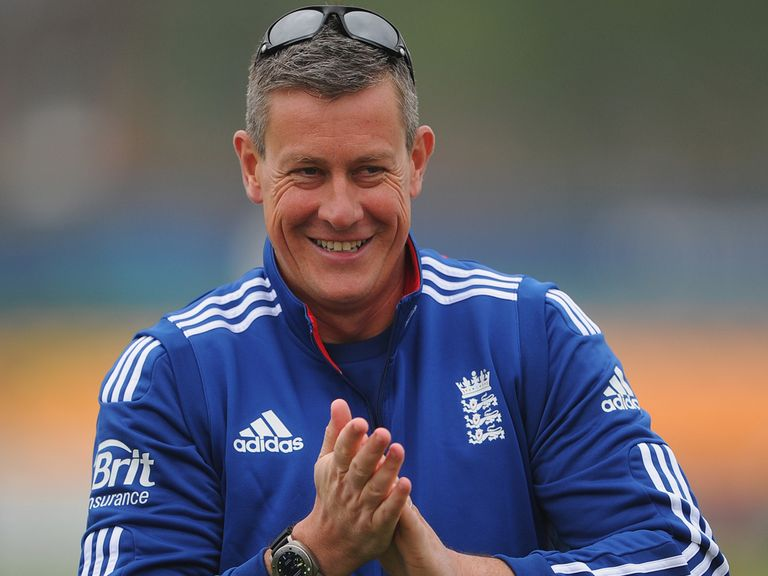 Ashley Giles: A strong favourite to succeed Andy Flower