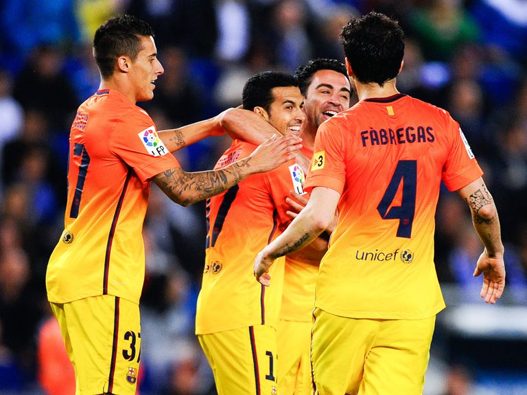 Barcelona are closing in on 100 points
