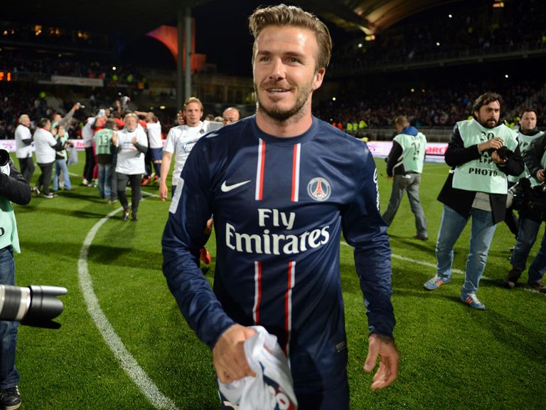 David Beckham: Yet to decide on his PSG future