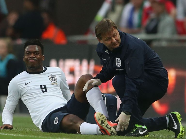Daniel Sturridge: Returning from an ankle injury picked up on England duty